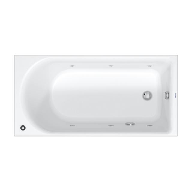 Duravit D-Neo rectangular whirlbath with jet system with jet system