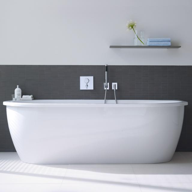 Duravit Darling New back-to-wall whirlbath with panelling with Air-System