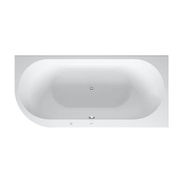 Duravit Darling New corner whirlbath with panelling with Air-System