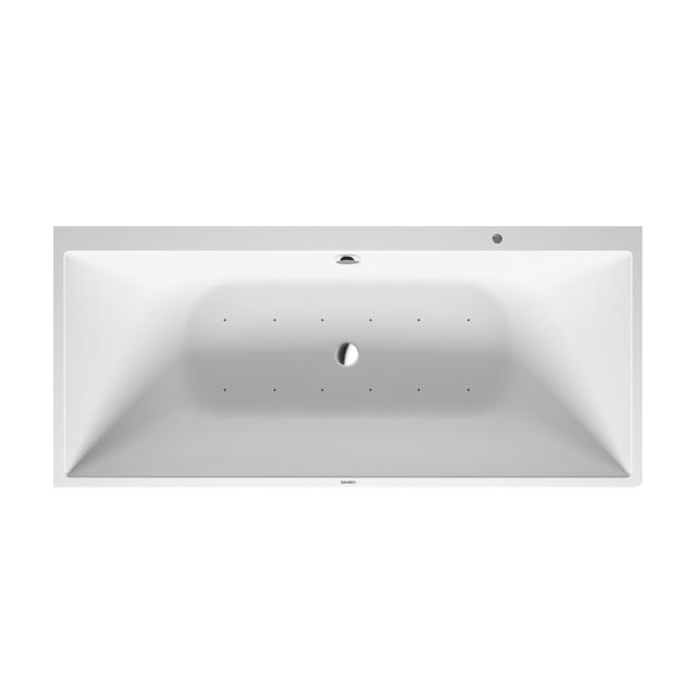 Duravit DuraSquare back-to-wall whirlbath with panelling with Air-System, with water inlet