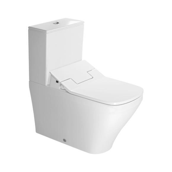 Duravit DuraStyle close-coupled, floorstanding washdown toilet for SensoWash® white
