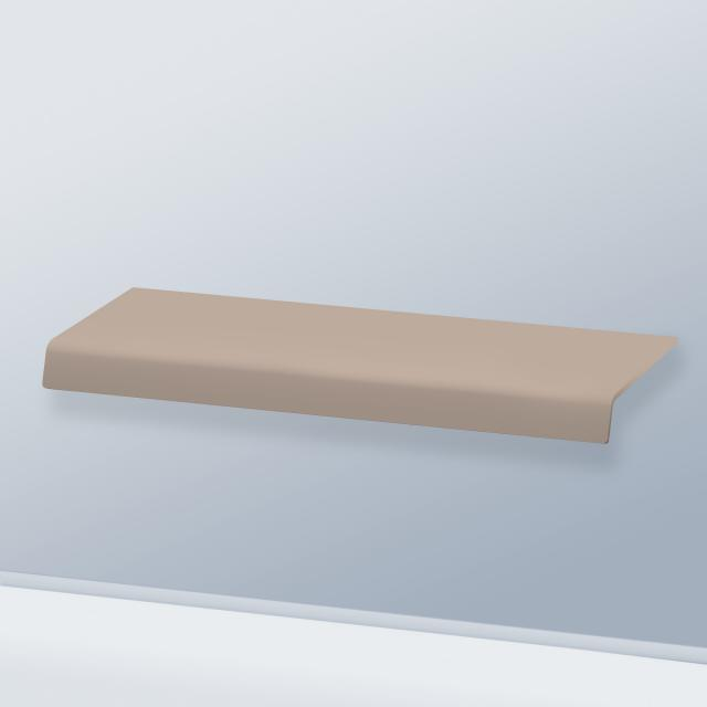 Duravit DuraStyle console without cut-out matt basalt