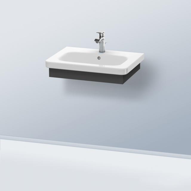 Duravit DuraStyle washbasin panel matt graphite