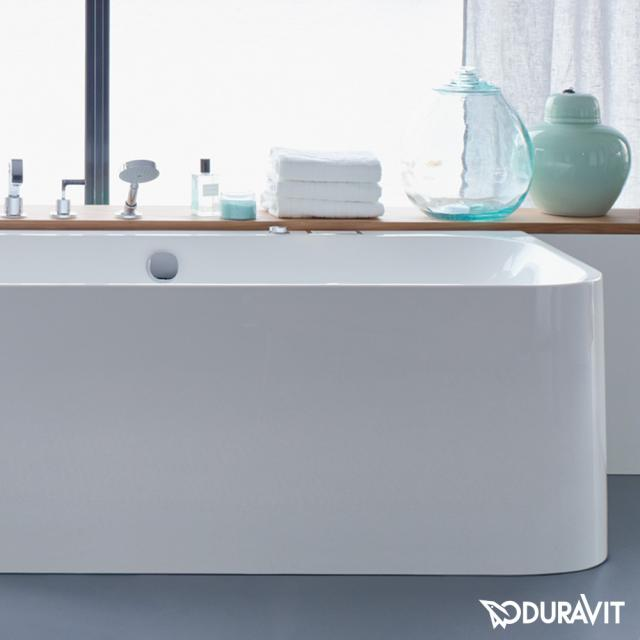Duravit Happy D.2 corner whirlbath with panelling with Air-System