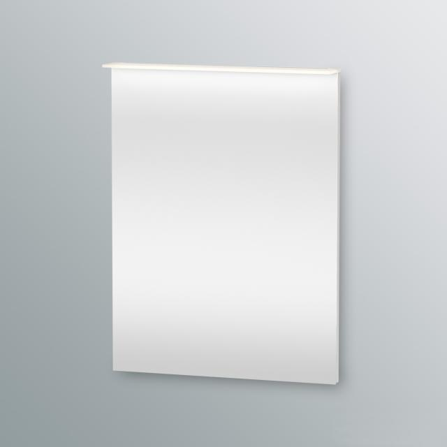 Duravit Happy D.2 mirror with LED lighting white high gloss