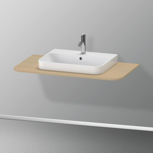 Duravit Happy D.2 Plus console for 1 countertop-/drop-in washbasin mediterranean oak