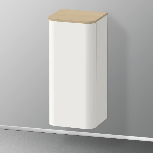 Duravit Happy D.2 Plus medium unit with 1 door front silk matt nordic white / corpus silk matt nordic white