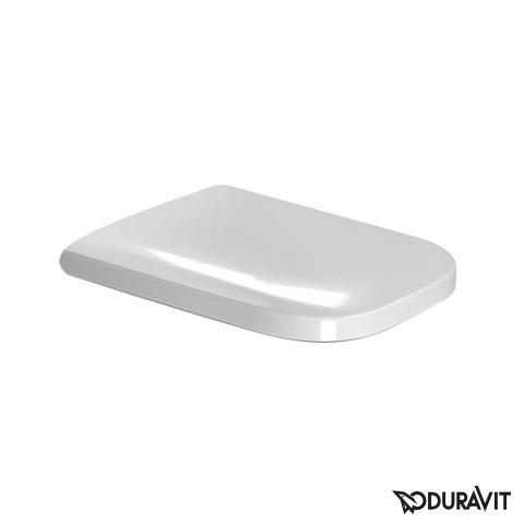 Duravit Happy D.2 toilet seat white, with soft-close