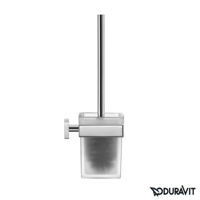Duravit Karree wall-mounted toilet brush set