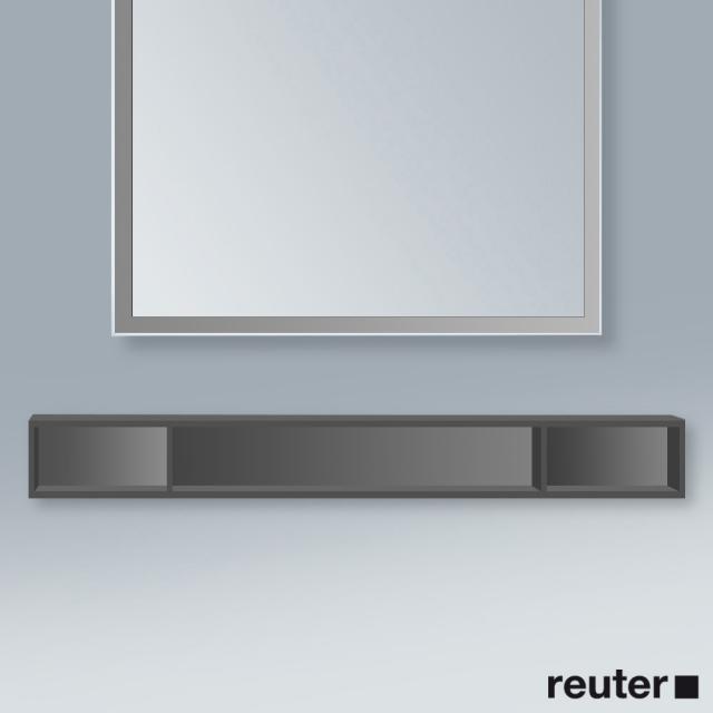 Duravit L-Cube horizontal rack matt graphite