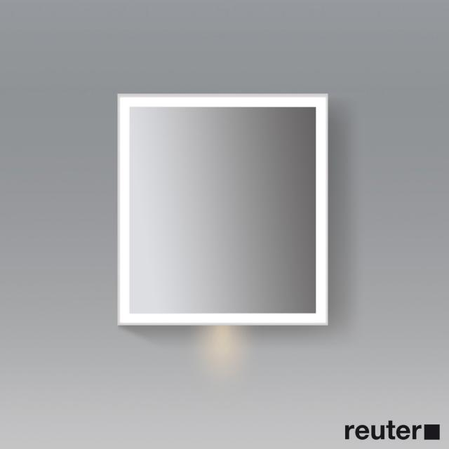 Duravit L-Cube mirror cabinet with LED lighting with washbasin lighting