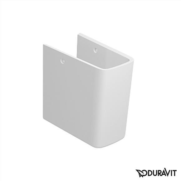 Duravit ME by Starck siphon cover white with WonderGliss