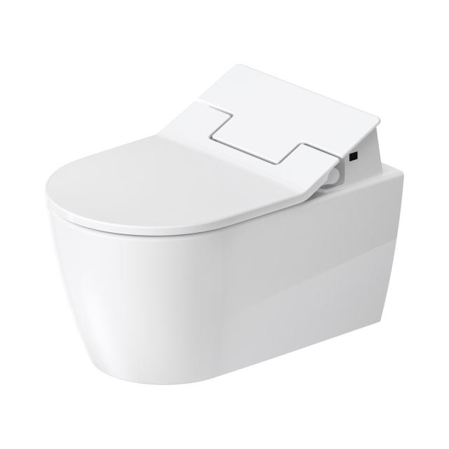 Duravit ME by Starck, wall-mounted, washdown toilet, HygieneFlush for SensoWash®