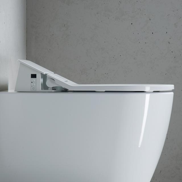 Duravit SensoWash® the NEW Slim shower toilet seat with descaling function
