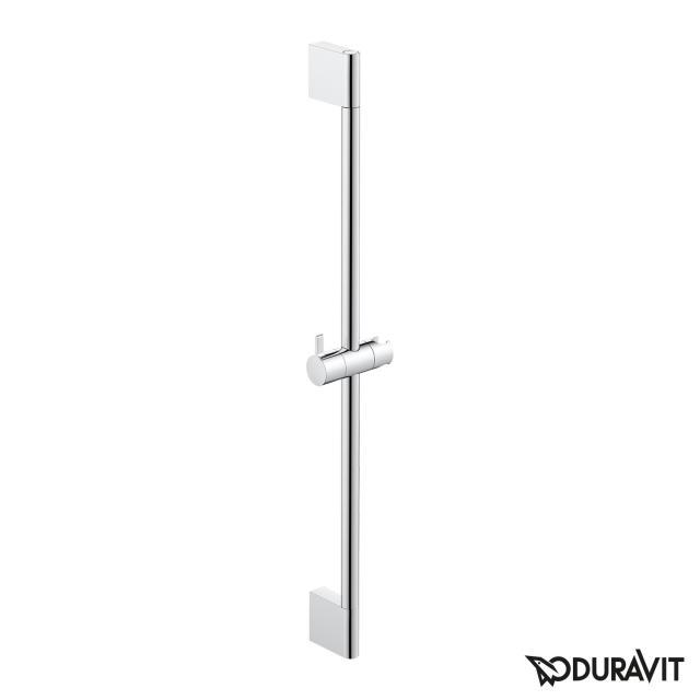 Duravit shower rail chrome, H: 700 mm