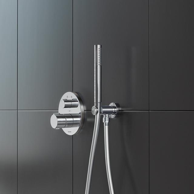 Duravit staff-shaped hand shower chrome