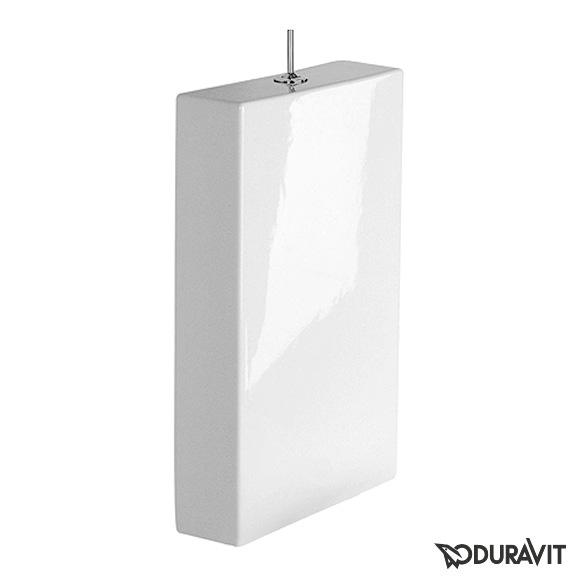 Duravit Starck 1 cistern with puro button white, with puro button, chrome