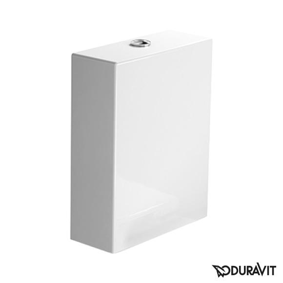 Duravit Starck 2 close-coupled cistern, left connection white