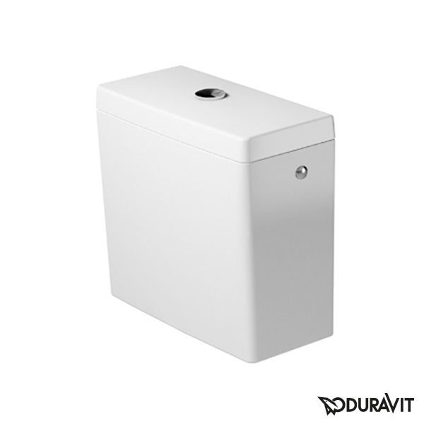 Duravit Starck 3 close-coupled cistern white, with left/right/centre connection