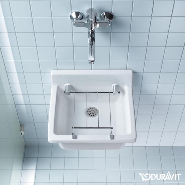 Duravit Starck 3 utility basin white, with WonderGliss