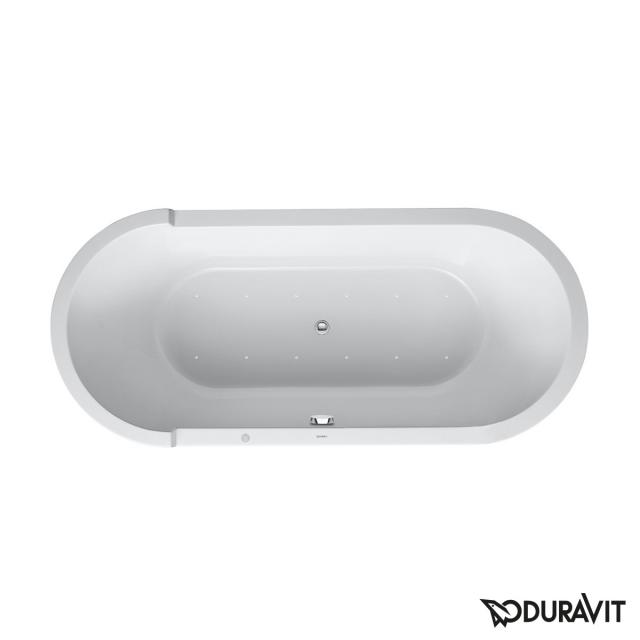 Duravit Starck oval whirlbath, built-in with Air-System