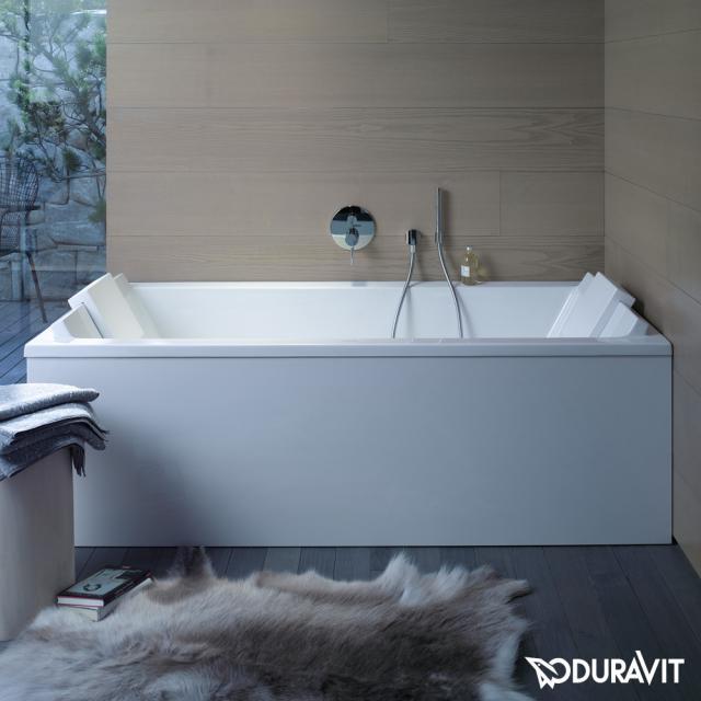Duravit Starck rectangular bath, built-in