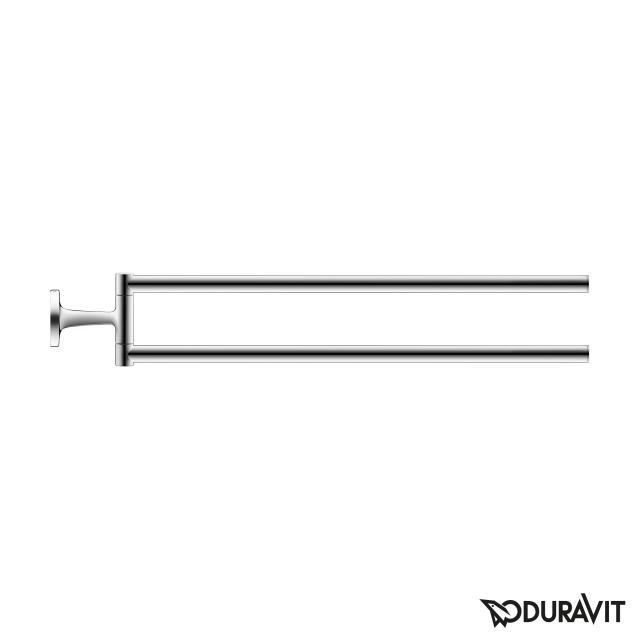 Duravit Starck T double towel bar chrome