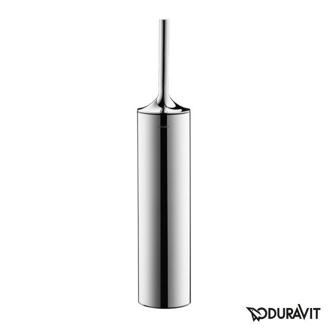 Duravit Starck T toilet brush set chrome