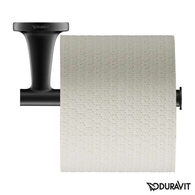 Duravit Starck T toilet roll holder matt black