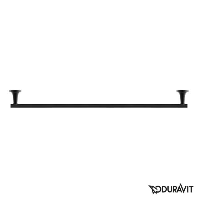 Duravit Starck T towel rail matt black