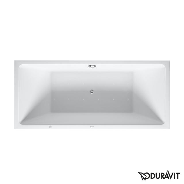 Duravit Vero Air back-to-wall whirlbath with panelling with Air-System