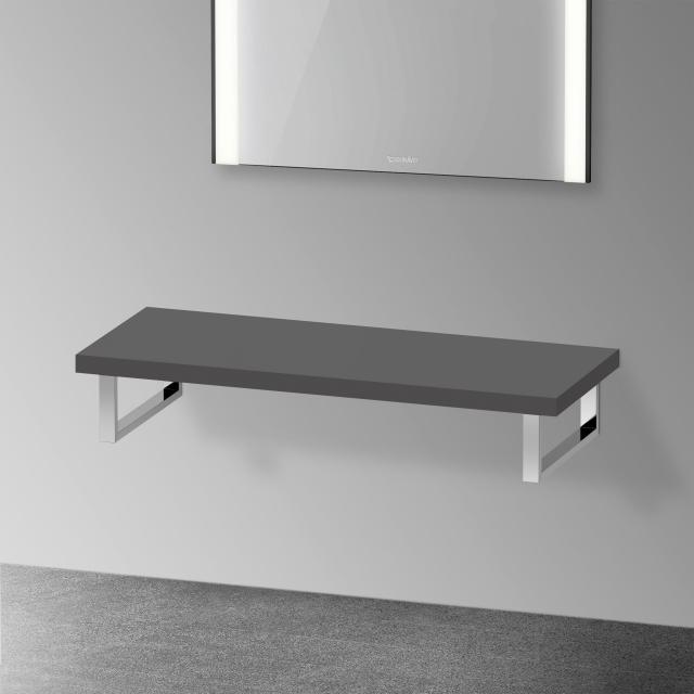 Duravit XViu console without cut-out for countertop basin / drop-in basin