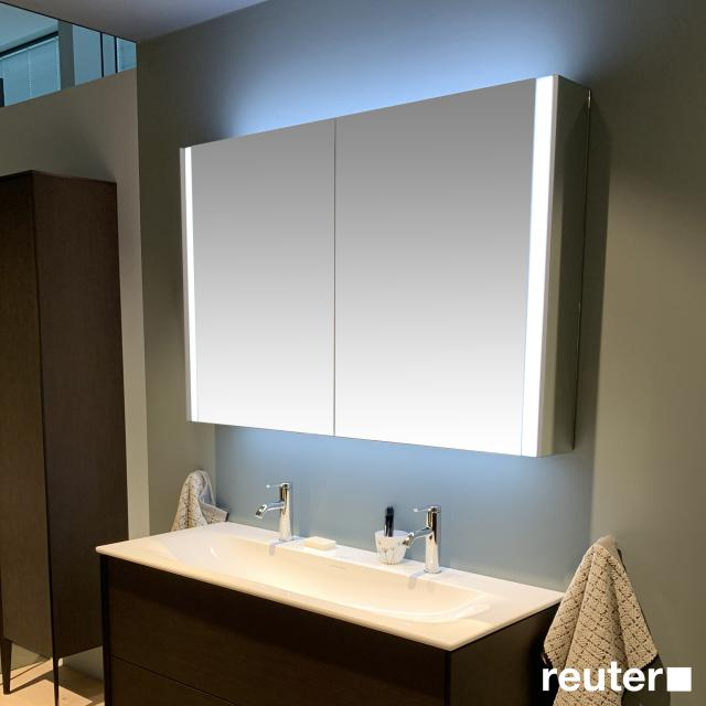 Duravit XViu mirror cabinet with LED lighting Icon Version, matt champagne