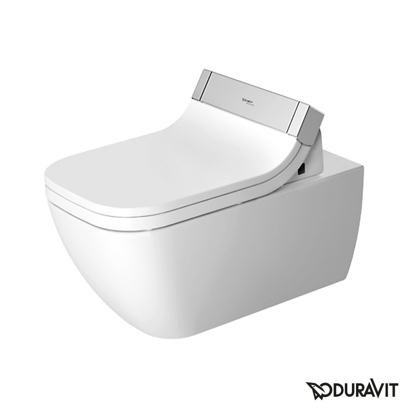 Cool Duravit Happy D 2 Wall Mounted Washdown Toilet Rimless With Beatyapartments Chair Design Images Beatyapartmentscom