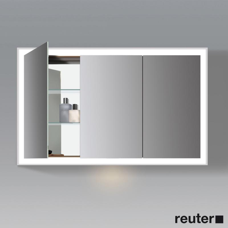 Duravit L Cube Mirror Cabinet With Led Lighting With