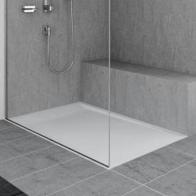 Duscholux Fjord shower tray L: 90 W: 90 cm white