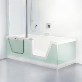 Duscholux Step-In Pure bath with removable door insert