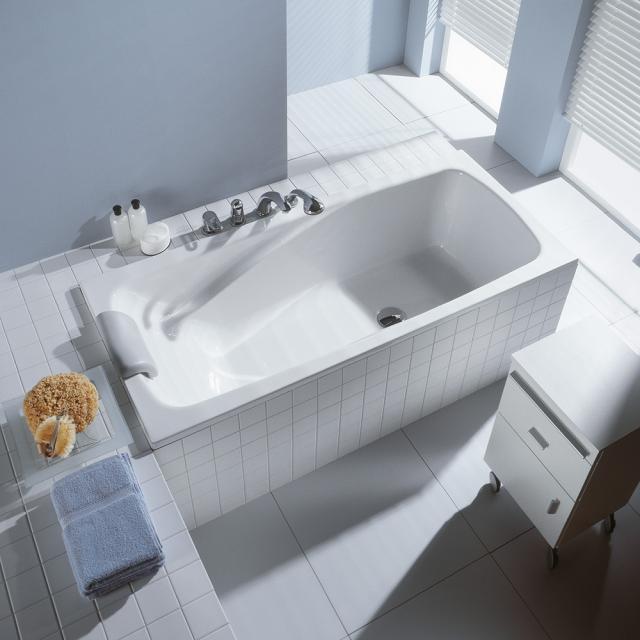 Duscholux Ancona Free Line rectangular bath white