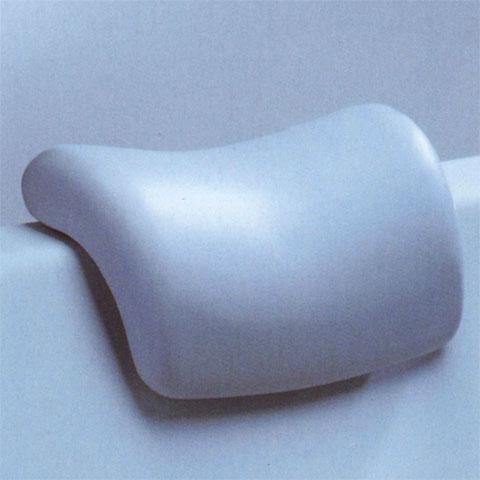 Duscholux head rest for baths silver grey