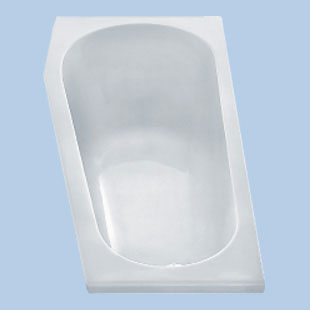 Duscholux Piccolo compact bath white