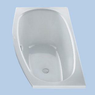 Duscholux Piccolo Sky compact bath white