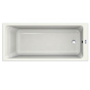 Duscholux Prime-Line rectangular bath white