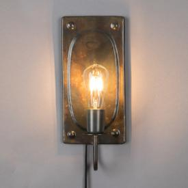 Dutchbone Brody wall light with power cord