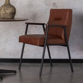 Dutchbone Fez chair with armrests