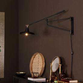 Dutchbone Hector wall light with power cord