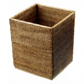 Decor Walther BASKET QK waste paper basket rattan dark