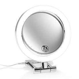 Decor Walther BS 11 LED freestanding beauty mirror, 7x / 3x magnification, 230 V