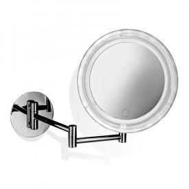 Decor Walther BS 16 TOUCH LED wall-mounted beauty mirror with dimmer, 5x magnification, battery