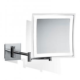 Decor Walther BS 84 TOUCH LED Miroir cosmétique mural avec variateur, grossissement x5, pile