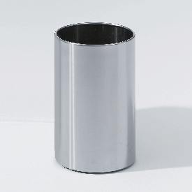 Decor Walther DW 104 waste paper bin polished stainless steel